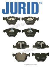 For BMW 335d 335i 335i xDrive 335xi 07-16 Front & Rear Brake Pad Set PAIR Jurid