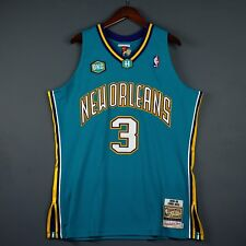 100% Authentic Chris Paul Mitchell & Ness 05 06 Hornets Jersey Size 48 XL Mens