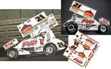 Cd_Dsc_083 #21 Brian Brown Fvp Sprint Car 1:24 Scale Decals