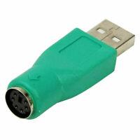 USB Male zu PS/2 Female Stecker Konverter Adapter für Maus P Q5O4 Tastatur Y5H9