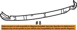 Dodge CHRYSLER OEM 07-11 Nitro Rear Bumper-Reinforcement 55157172AB