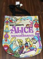 NWT Disney Loungefly Alice in Wonderland Alice and Friends Canvas Tote Bag