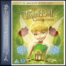 TINKER BELL - DISNEY 1 -  6 COMPLETE MOVIE COLLECTION   *BRAND NEW DVD BOXSET***