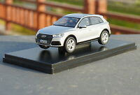 1/43 Scale AUDI Q5 2017 Silver Diecast Car Model Toy Collection Gift Toy