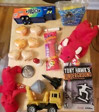 Huge toy lot Nascar Beanie Babies Pez Air Force Tony Hawk Baseball Truck X-Mas