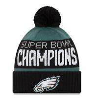 c7da01ca71dc6 PHILADELPHIA EAGLES Knit HAT NFL SUPER BOWL Champions Pom Beanie NWT