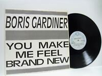 "BORIS GARDINER you make me feel brand new 12"" EX/EX TROT 9088, vinyl, reggae, uk"