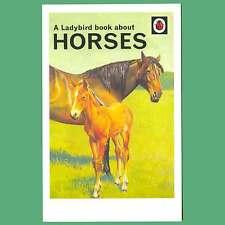 Postcard - A Ladybird Book About Horses - Ladybird Cover Postcard
