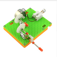 Electric Generator Energy LED Small Mini Kids Science Fun Mechanical Learning