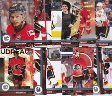 CALGARY FLAMES 2017-18 17-18 UPPER DECK 1 & 2 TEAM SET (13) GAUDREAU JAGR +
