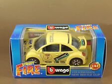 [PL3-8] BBURAGO BURAGO 1/43 STREET FIRE #41501 VOLKSWAGEN NEW BEETLE CUP NIB