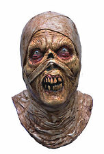 Halloween Costume QUALITY EVIL ZOMBIE MUMMY LATEX MASK Haunted House NEW
