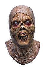 Halloween LifeSize Costume EVIL ZOMBIE MUMMY LATEX MASK Haunted House NEW