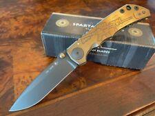 Spartan Blades Knife Harsey Folder S45VN Frame Lock 2019 Special Edition Rifle