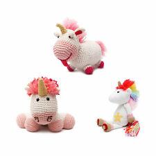 Sprightly Unicorn Handmade Amigurumi Stuffed Toy Knit Crochet Doll VAC