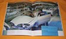 Karmann Unternehmens-Prospekt 1999 Image Brochure Company Catalogue VW