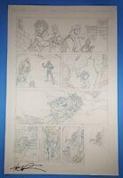 Irredeemable Ant-Man #10 page 7 original art Phil Hester Robert Kirkman WW Hulk
