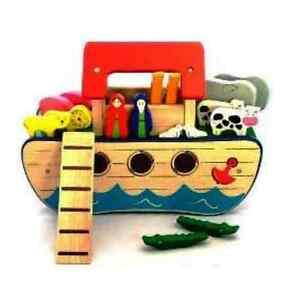 Pintoy Wooden Noahs Ark