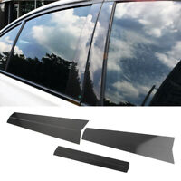 Window B Pillar Trim Cover Carbon Fiber for BMW 5 Series E60 2004-2010 Auto st