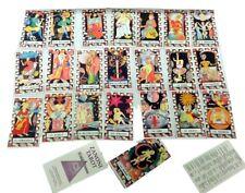 Vintage Zanoni Tarot Cards Set Deck 22 Major Arcana  from 1993