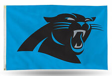 "Carolina Panthers NFL Banner Flag 3' x 5' (36"" x 60"") ~ NEW"