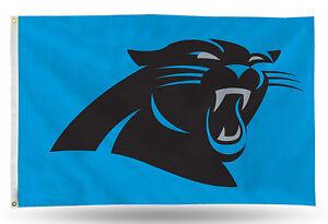 3x5 outdoor Flag - NFL Football - Carolina Panthers