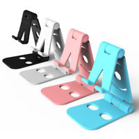 CG_ Universal Mobile Phone Holder Desktop Table Stand Bracket Portable Foldable