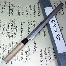 Japanese Knife Tojiro Sushi Sashimi Chef Shirogami With PC Ring Takohiki 270mm