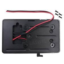 V-Mount Lock D-Tap BP Battery Back Pack Plate Adapter for Sony DSLR Video Camera