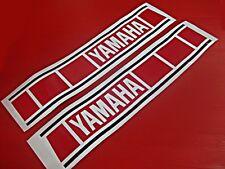 YAMAHA ENDURO DT100 DT125 YZ125 RED STICKER      (bi)
