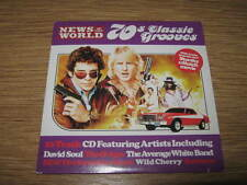 70'S CLASSIC GROOVES - NEWS OF THE WORLD PROMO CD ALBUM - EXCELLENT