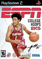 PS 2 ESPN College Hoops 2K5   Compete  Sony PS-2 Rated E