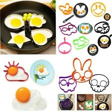 Kitchen Fried Egg Mold Silicon funny steel Pancake Mould Shaper Cooking Tools