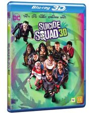 Suicide Squad 3D + 2D Blu Ray (slipcover)