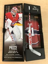 """2020 Tim Hortons NHL SUPERSTAR COLLECTABLE STICK -  """"PRICE 31"""""""