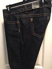 Womens-Size-16-Short-Torrid-Jeans-Rinsed-Dark-Wash-Skinny-SKN-SPHIA-RINSE-510866