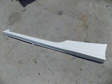 2015 2016 2017 HONDA ACCORD COUPE LH LEFT ROCKER MOULDING OEM USED PEARL WHITE