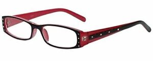Calabria 836 Dazzles Crystals Reading Glasses w/Hard Case 40 Color&Power Options