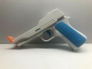 Nyko Perfect Shot Gun Controller Pistol Remote Orange Clip -Nintendo Wii Console