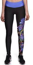 Floral Print High Waist Leggings Trousers UK 8-10
