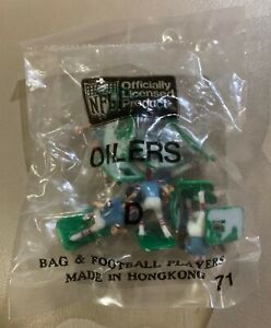 Houston Oilers HOME Tudor Electric Football Team Mint Sealed in Bag (MY LAST ONE