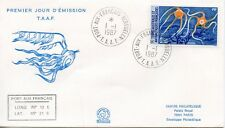 FDC / T.A.A.F. TERRES AUSTRALES TIMBRE  N° 122 / FAUNE /