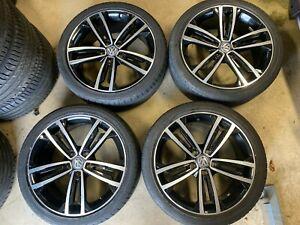 VW Golf 7 Gti GTD Tcr R Summer Wheels 18 Inch Alloy Rims Sevilla 5G0601025CM 7.5