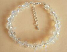 Vintage Style Aurora Borealis Crystal Wedding Party Prom Bracelet Gift Bag