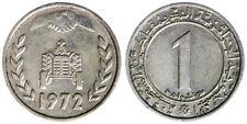 1 DINAR 1972 F.A.O. TRATTORE TRACTOR ALGERIA #1937