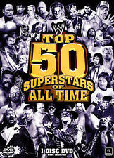 Top 50 Superstars Of All Time DVD Region 1 Brand New FREE Shipping