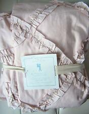 Pottery Barn Kids Fashionista Duvet Cover NWT Full/Queen - Pink Spiral Ruffles