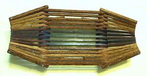 Handcrafted Wooden Fruit Basket