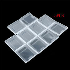 5Pxs Clear Plastic Game Cartridge Case Dust Cover for Game Boy GB GBC P0CA