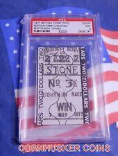 "KENTUCKY DERBY 1977 SEATTLE SLEW $2 WIN UN-CASHED TICKET~ PSA COA MINT ~ ""RARE"""